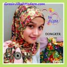 Jilbab Syria Sally Bunga-Bunga Instant