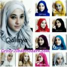 Jilbab Avent menyerupai Hair Hijab Langsung Pakai