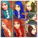 Jilbab Syria Marimar Curly Yang Cantik & Modis