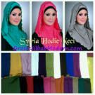 Jilbab Syria Hoodie Neci Anggun Mempesona