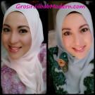 Jilbab Hoodie Cybil Bertahtakan Renda Unik dan Cantik