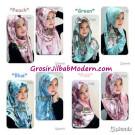 Jilbab Hoodie Modistee Jersey, Jilbab Unik Original By Flow