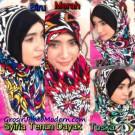 Jilbab Syria Tenun Dayak