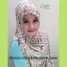 Jilbab Instant Syria Coral by Flow