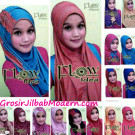 Jilbab Syria Curly Dotty Dua Sisi Yang Cantik & Modis