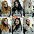 Jilbab Hoodie  Ceruti  Songket Kerut by Fisura