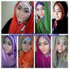 Jilbab Sharon Tribal Instant Original by Apple Hijab Brand
