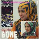 Jilbab Syria Bonetta Motif Unik Yang Anggun Menawan