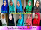Jilbab Syria Diandra, Jilbab Modis Instant by Apple Hijab Brand