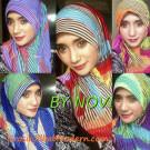 Jilbab Syria LinCol Aneka Warna Yang Elegan