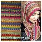 Jilbab Syria Tribal Aneka Warna Yang Kontras Menawan