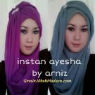 Jilbab Ayesha Instant Original by Arniz