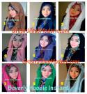 Jilbab Beverly Hoodie Cantik dan Modis