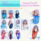 Jilbab Cassey Ribbon Jilbab Hoodie Instant Modis By Fisura