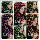 Jilbab Danica Hoodie Square Colour Motif Baru Siap Menyambut Lebaran Tahun Ini