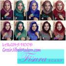 Jilbab Hoodie Laluna Simple Nan Cantik dan Unik by Fisura Scaft