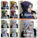 Pashmina Syria Shenica, Jilbab Instant  Bolak Balik Trendy & Modis by Syahida