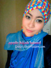 Jilbab Turban Hoodie Diane Abstrak Modis dan Mewah