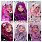 Jilbab Syria 2 Lapis Cerruti Liner Jilbab Stylish, Trendy & Simple