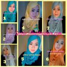Jilbab Pashmina Kombinasi Syria Great PashSyr Modis, Modern dan Simple by Apple Hijab Brand