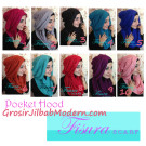 Jilbab Pocket Hoodie Jilbab Modis Keluaran Terbaru Dari Fisura Scarf