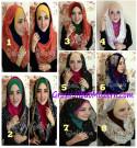Jilbab Instant Hoodie Ileana Modis dan Modern Original by Qalisya