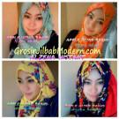 Jilbab Instant Alzena Modis Original by Apple Hijab Brand