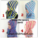 Jilbab StripTurban Lurik Series By Goest