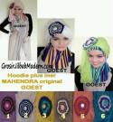 Jilbab Hoodie Instant Cantik Mahendra Original by GOEST