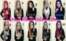 Jilbab Hoodie Instant Lindy Hood Modis dan Cantik by Syahida