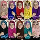 Jilbab Syria Elmo Motif Kotak Modis by Qalisya Hijab Brand