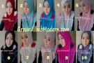 Jilbab Syria Simply Rose Unik by Apple Hijab Brand