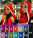 Pashmina Instan Silver Simple dan Modis