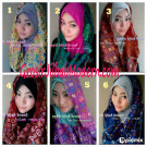 Pashmina Instant Zehra Modis by Apple Hijab Brand