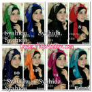 Turban Pesta Sufya Exclusive Original by Syahida Hijab Brand