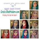Jilbab Exclusive Jolie Gliter Original by Apple Hijab Brand