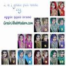 Jilbab 2 In 1 Goldee Plizt Hoodie Trendy dan Elegan by Apple Hijab Brand