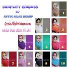 Jilbab Syria Simplity Emboss Unik dan Trendy by Apple Hijab Brand