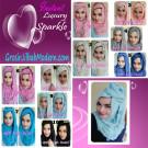 Pashmina Instant Luxury Sparkle by Apple Hijab Brand