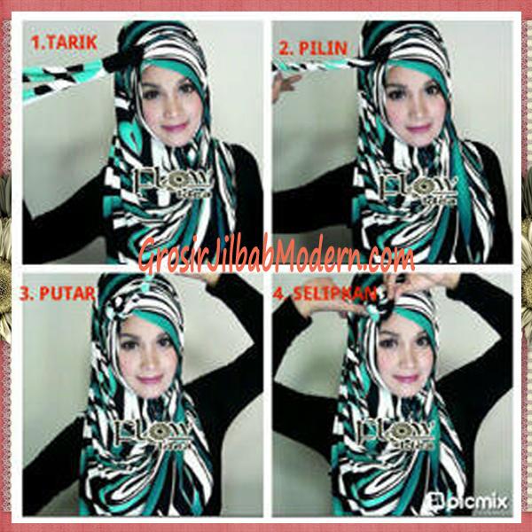 Cara Pakai Hijab Pashmina Modern | hairstylegalleries.com