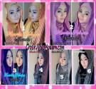 Jilbab Hoodie Bolak Balik Sabrina by Narinda, Simple dan Modis