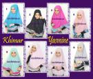 Jilbab Khimar Cantik Yasmine Trendy Dan Syar'i