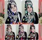 Jilbab Instant Pashmina Syria Lollipita by Flow Idea Modis dan Trendy
