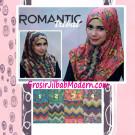 Jilbab Syria Bolak Balik Romantic Tribal Yang Cantik dan Modis