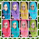 Jilbab Syrpash Aleeza Ruffle Sparkling By Apple Hijab Brand