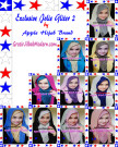 Jilbab Exclusive Jolie Gliter Seri 2 Trendy Original by Apple Hijab Brand