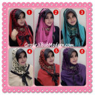 Jilbab Syria Hoodie Savana Trendy by Flow Idea ( Limited Edition )