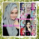 Jilbab Modern Instant Aleeza Pasyir Crinkle By Apple Hijab