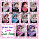 Jilbab Pesta Syria Inara Glowing by Apple Hijab Brand