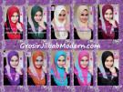 Jilbab Syria Cantik Zhafrina Diamond Original by Apple Hijab Brand